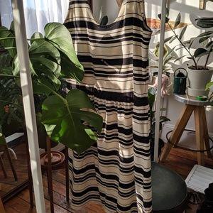 Breezy stripes for summer dress